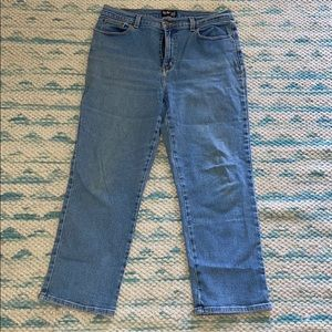 Style and Co jeans light rinse